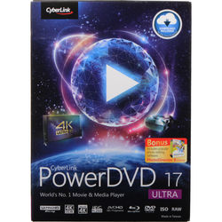 CyberLink PowerDVD 17 Ultra (Boxed)