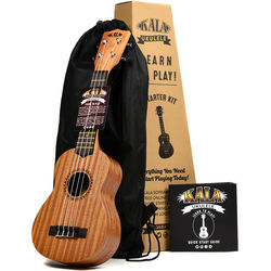 KALA KALA-LTP-S Learn to Play Soprano Ukulele Starter Kit