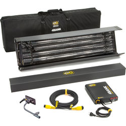 Kino Flo 4' 4-Bank Kit with Soft Case (Universal 230U)