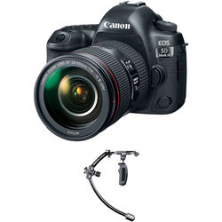 Canon EOS 5D Mark IV DSLR Camera with 24-105mm f/4L II Lens with Stabilizer Kit