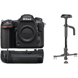 Nikon D500 DSLR Camera Body with Stabilizer Kit