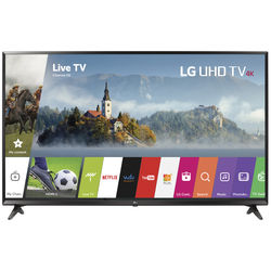 "LG UJ6300-Series 43""-Class HDR UHD Smart IPS LED TV"