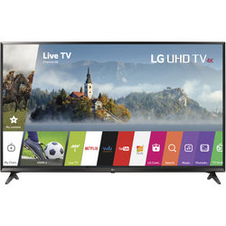 "LG UJ6300-Series 65""-Class HDR UHD Smart IPS LED TV"