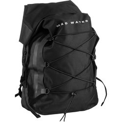 Mad Water Classic Roll-Top Waterproof Backpack (30L, Black)