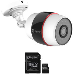 ezviz CV-210 Husky 1080p Outdoor Wi-Fi Night Vision Bullet Camera & 16GB microSD Card Kit