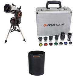"Celestron NexStar Evolution 6"" f/10 Schmidt-Cassegrain GoTo Telescope and Accessory Kit"