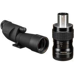 Pentax PF-65ED II 65mm Spotting Scope with Zoom Eyepiece Kit (Straight Viewing)