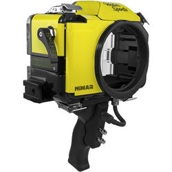 Nimar Water Sports Housing with Pistol Grip for Nikon D7100 or D7200 (Yellow/Clear)