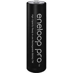 Panasonic eneloop pro AA Rechargeable NiMH Batteries (1.2V, 2500mAh, 4-Pack)
