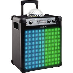 ION Audio Party Rocker Max - Wireless Speaker System with Built-In Light Show