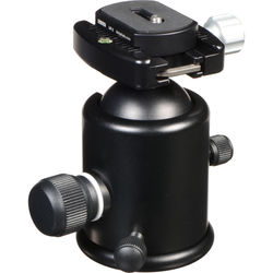 Kirk BH-1 Ballhead with Quick Release - Supports 50 lbs (22.6kg)