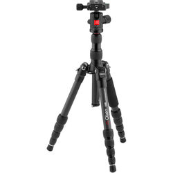 Oben CT-3535 Folding Carbon Fiber Travel Tripod with BE-208T Ball Head