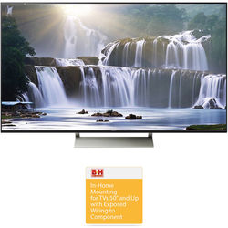 "Sony XBR-940E-Series 75""-Class HDR UHD Smart LED TV with Basic On-Wall Installation Kit"