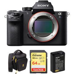 Sony Alpha a7S II Mirrorless Digital Camera with Accessory Kit