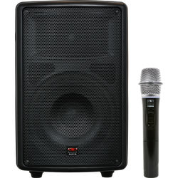 "Galaxy Audio Quest Battery Powered 8"" Speaker With Built-In Bluetooth  Wireless Handheld System"