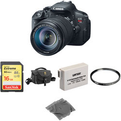 Canon EOS Rebel T5i DSLR Camera with 18-135mm STM Lens Basic Kit