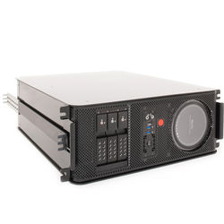 JMR Electronics Mac Pro PCIe to Thunderbolt 2 Three-Bay RAID Enclosure with Rackmount Kit (Black)