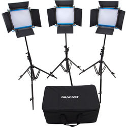 Dracast LED500 S-Series Bi-Color LED 3-Light Kit
