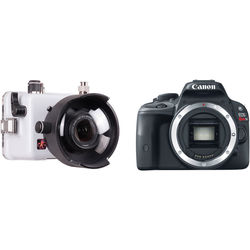 Ikelite Compact TTL Underwater Housing and Canon EOS Rebel SL1 Camera Body Kit