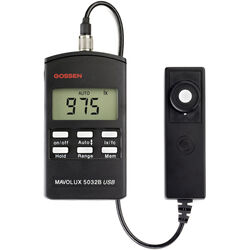 Gossen Mavolux 5032B Digital Footcandle and Lux  Meter