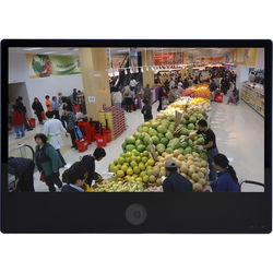 "ViewZ 27"" Public View LED Monitor with 2MP Network Camera"