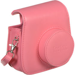 FUJIFILM Groovy Camera Case for instax mini 9 (Flamingo Pink)