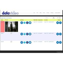 Datavideo Multi-Channel Streaming Server