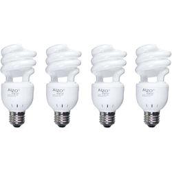 ALZO 120V CFL Video-Lux Photo Light Bulb (3200K, 15W, 4-Pack)