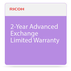 Ricoh 2-Year Advanced Exchange Limited Warranty for SP 377DNwX Printer
