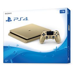 Sony PlayStation 4 Slim Gaming Console (Gold)