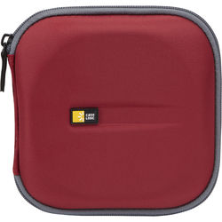 Case Logic CD Wallet for Up to 24 CDs (Red/Green)
