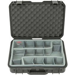 SKB iSeries 1813-5 Case with Think Tank-Designed Photo Dividers & Lid Foam (Black)