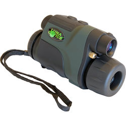 Luna Optics LN-DM2-HRV 2x24 Digital Night Vision Monocular (Green-Black)