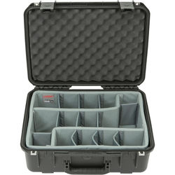 SKB iSeries 1813-7 Case with Think Tank-Designed Photo Dividers &Lid Foam (Black)