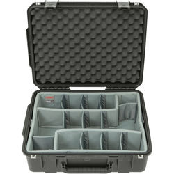 SKB iSeries 2015-7 Case with Think Tank-Designed Photo Dividers &Lid Foam (Black)