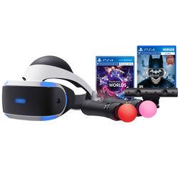 Sony VR Worlds Bundle & Batman: Arkham VR Kit