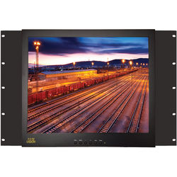 "Tote Vision 17"" LED Rack-Mount Monitor"