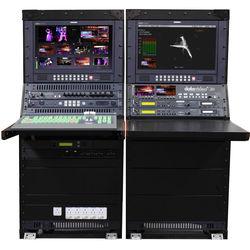 Datavideo Mobile Studio With SE-2850-8,HDR-70,VSM-100,2-TLM-170LR,ITC 100 With 4 Belt Packs,AM-100,AD-100M