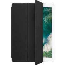 """Apple Leather Smart Cover for 12.9"""" iPad Pro (Black)"""