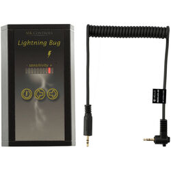 MK Controls Lightning Bug Shutter Trigger with Cable for Select Canon E3 / Pentax SubMiniPhone Cameras