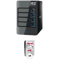 HighPoint RocketStor 6314A 24TB 4-Bay Thunderbolt 2 RAID Enclosure and Drives Kit (4 x 6TB)