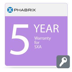 PHABRIX 5-Year Extended Warranty for PHSXA