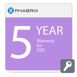 PHABRIX 5-Year Extended Warranty for PHSXD