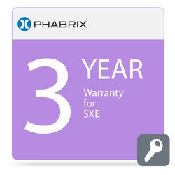 PHABRIX 3-Year Extended Warranty for PHSXE