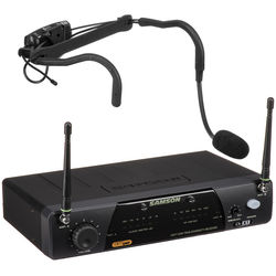 Samson AirLine 77 Fitness Head Worn Wireless Microphone System (Frequency K1: 489.500 MHz)