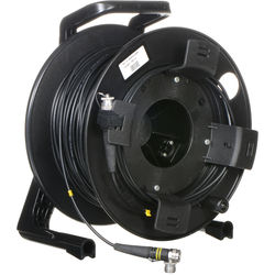 FieldCast 2Core Single-Mode Fiber Optic Cable on Winding Drum (Heavy-Duty, 328')