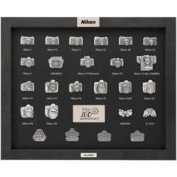 Nikon 100th Anniversary Pin Collection