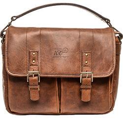Nikon 100th Anniversary Premium Leather Bag (Antique Cognac)