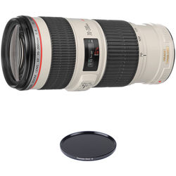 Canon EF 70-200mm f/4L IS USM Lens Solar Eclipse Kit
