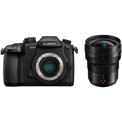 Panasonic Lumix DC-GH5 Mirrorless Micro Four Thirds Digital Camera with 8-18mm Lens Kit
